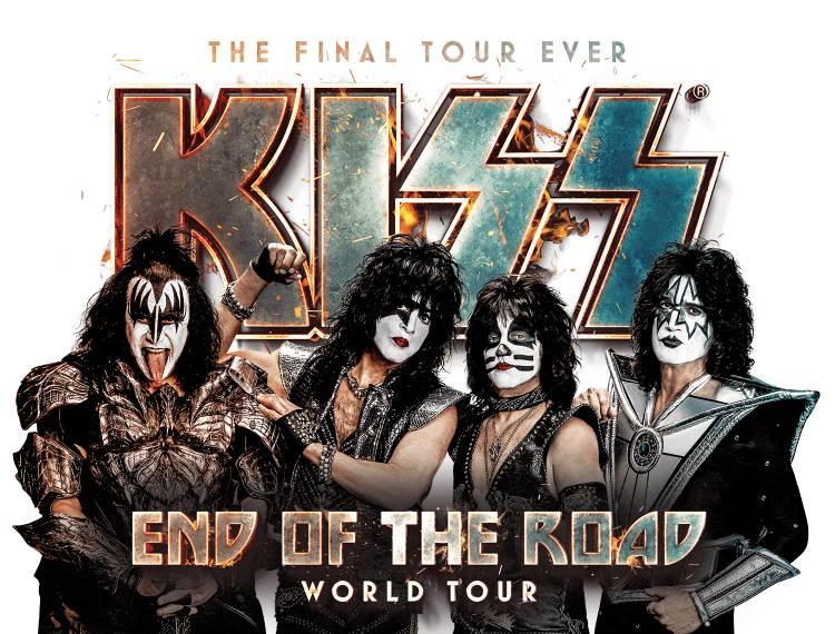 """Kiss dirá adiós a los escenarios el próximo año tras realizar su gira """"End of the Road"""""""