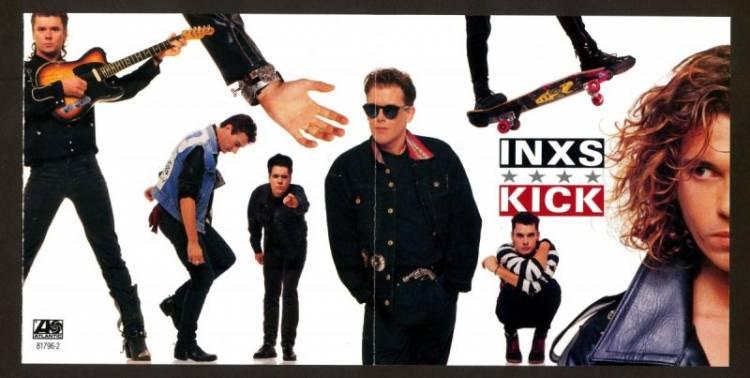 """El 12 de octubre de 1987, Inxs lanzó su sexto álbum """"Kick"""" con 4 sencillos Top 10 (incluido el éxito # 1 Need You Tonight)"""